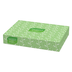 Surpass facial tissue white