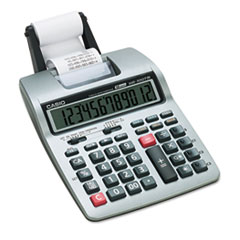 HR-100TM Two-Color Portable Printing Calculator, 12-Digit