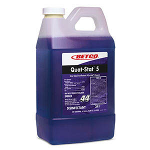 34147 Quat-Stat 5 Fastdraw Disinfectant 4/2L/cs