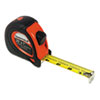 Sheffield ExtraMark Tape Measure, Red with Black