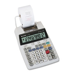 EL1750V LCD Two-Color Printing Calculator, 12-Digit