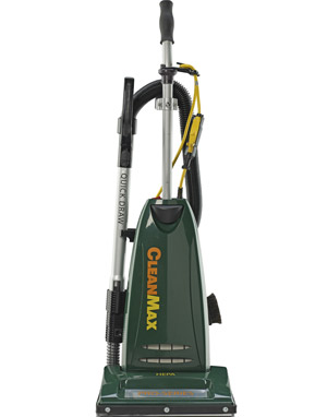 "CMPS-1T CleanMax Pro-Series 14"" Commercial Upright Vacuum,"