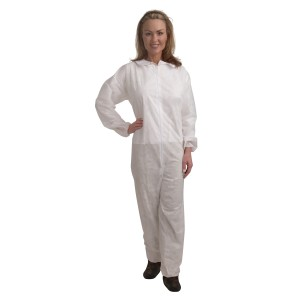 CO35 Large Standard Weight Polypropylene Coverall,