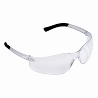 EL10S Dane safety glasses frosted clear frame clear lens