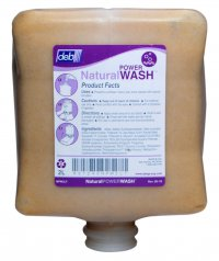 Deb Natural POWER Wash heavy duty hand cleaner, solvent
