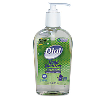 Dial Antibacterial Gel Hand Sanitizer with Moisturizer