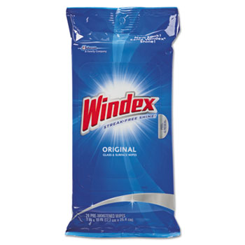 Windex Glass and Surface Wipes 12/28/cs