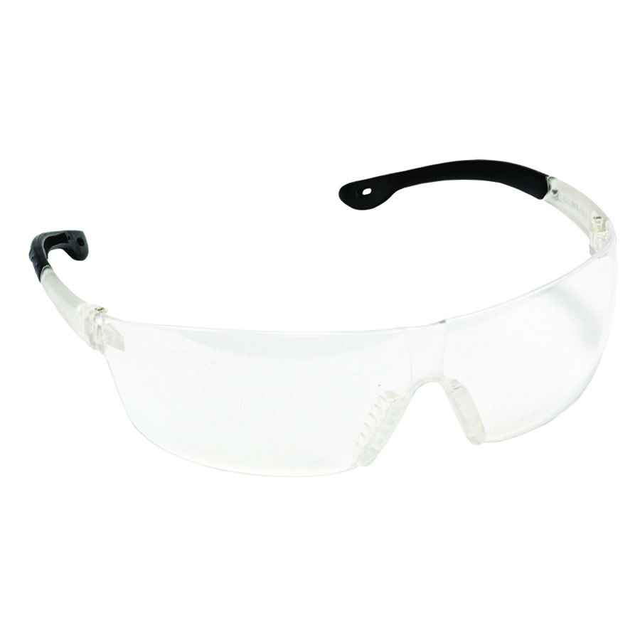 EGS10S JACKAL clear lens safety glasses, frosted clear