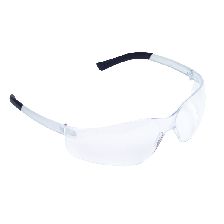 Dane Safety Glasses, 2.0 Diopter, Frosted Clear Frame,