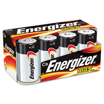 ENERGIZER C 8/PK BATTERY 12PKS/CS