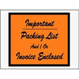 "4 1/2 x 6"" Important...Packing List /"