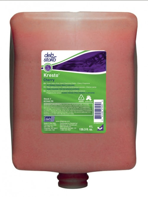 Kresto Cherry, 4 Liter, industrial hand cleaner,
