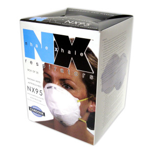 NX95 Particulate Respirator, NIOSH Approved Latex-Free