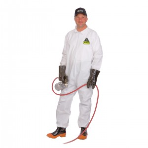 Defender™ Premium Microporous Coverall, Zipper Front &