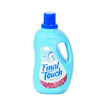Final touch spring fr fabric softener 4/120 OZ