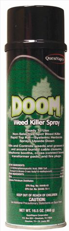 Doom 2,4-D Solvent-Based Weed Killer 12/20 oz/cs