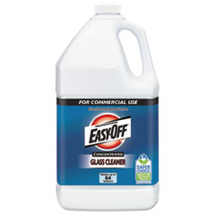 Easy Off Glass Cleaner Concentrate, 1 gal Bottle,