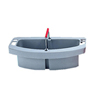 "Maid caddy 16""X9""X5"" gray"