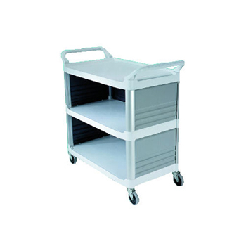 UTILITY CART 3 SIDES CLOSED BL