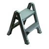 Two-step folding step stool