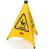 "20"" POP-UP SAFETY CONE""CAUTION"