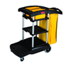 RCP 9T72 High-capacity cleaning cart. 5 cubic feet