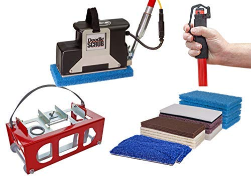 Square Scrub Doodle Scrub Deluxe Floor Machine Kit, High