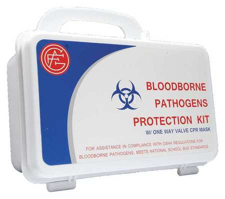 Bloodborne Pathogen Kit - Includes: (1) CPR Mask Pack,