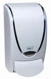 91108 Wh with chrome curve dispenser (CHR1LDS)