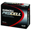 D Battery Procell 6 boxes of 12 each/case