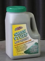 Green Stuff absorbent 1lb bottle 4/cs