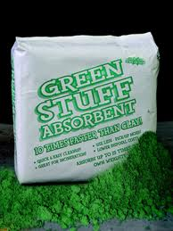 Green Stuff absorbent 44lb bx