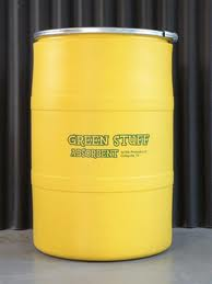 Green Stuff absorbent 55 gal drum