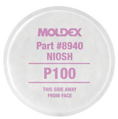 Moldex #8940 Particulate Filter for P100 10/pk
