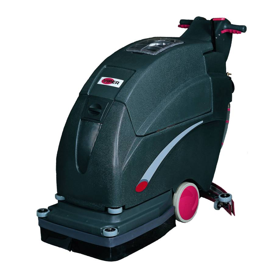 "FANG20-130 20"" Auto Scrubber 15-gallon, pad-assist drive,"